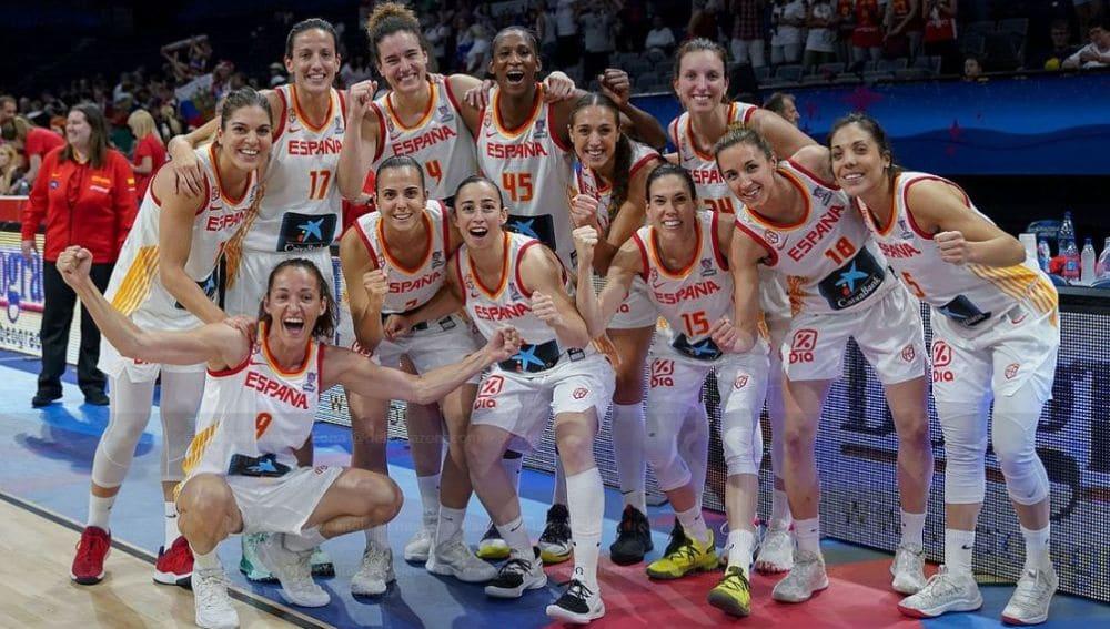 Eurobasket seleccion española femenina de baloncesto