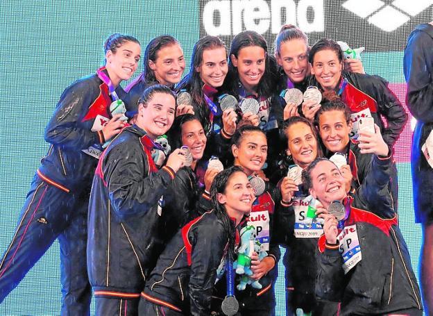 seleccion waterpolo medalla mundial plata