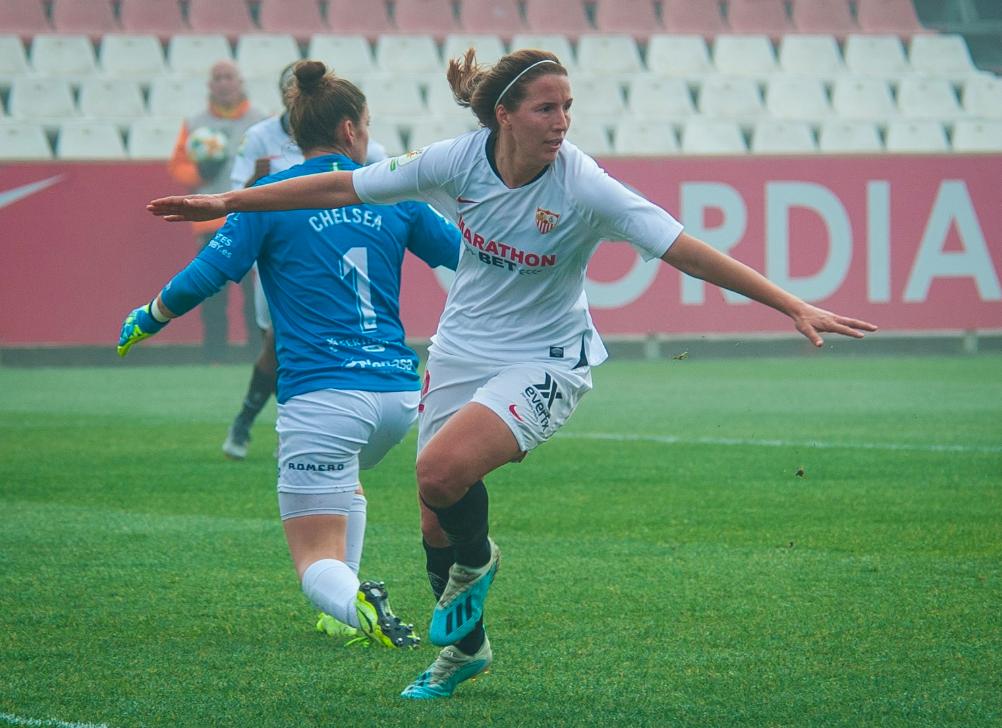 El Sevilla FC suma tres puntos tras su encuentro con el Sporting de Huelva