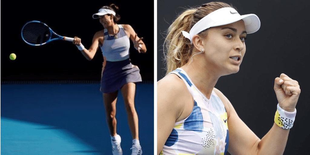Gran estreno de Muguruza y Badosa en el Open de Australia