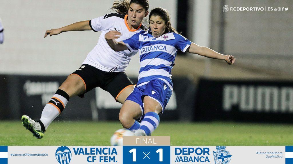 El Depor perdona al Valencia