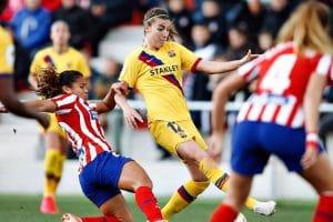 El clásico del fútbol femenino acaba sin goles