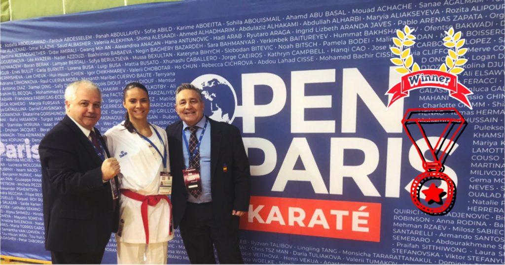 open paris karate carlota fernandez