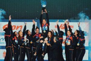 La selección femenina de waterpolo se proclama campeona de Europa