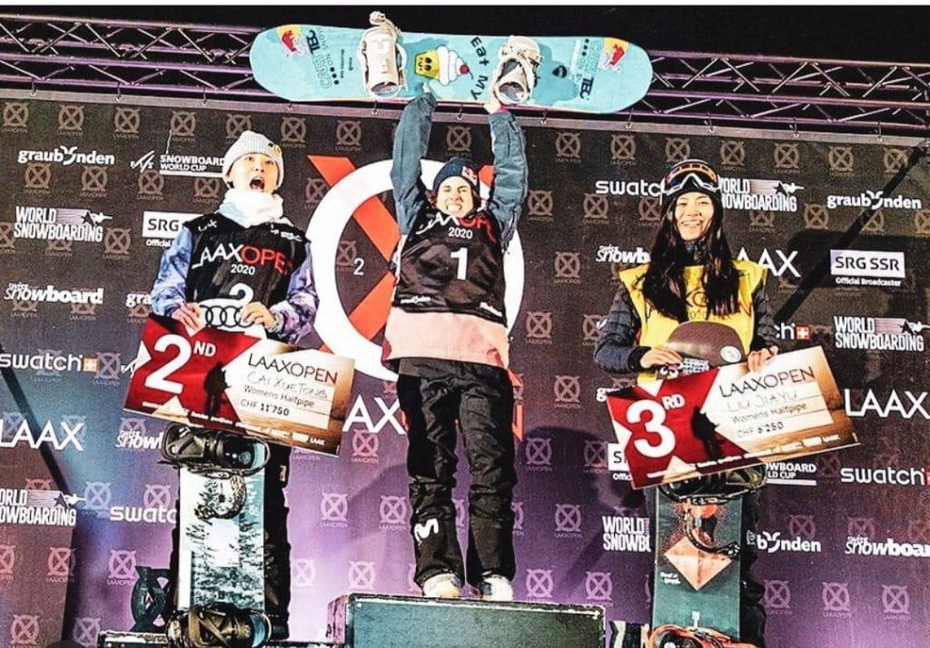 Qeralt Castellet triunfa en los X Games de Aspen