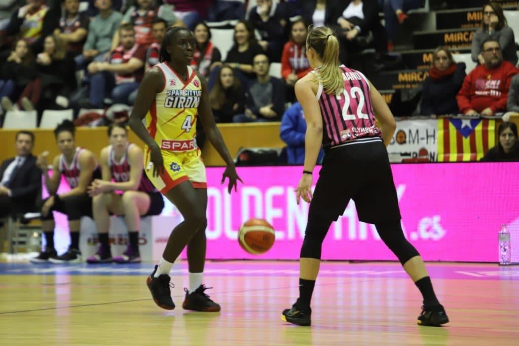 Spar Citylift Girona pierde ante ASVEL Lyon en un partido muy ajustado