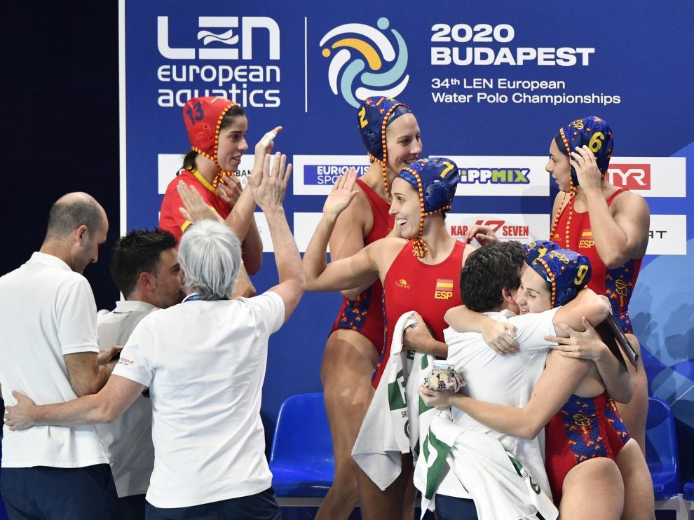 Portada semifinales europeo waterpolo