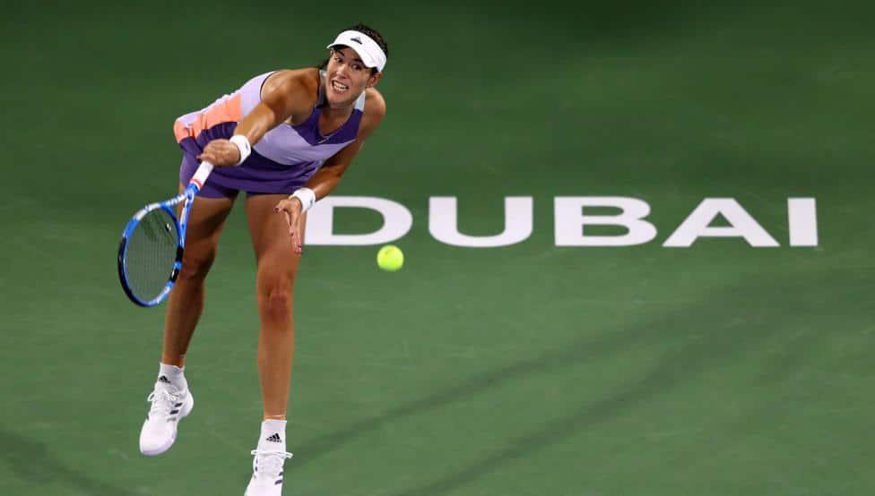 Muguruza se estrena en Dubai con victoria