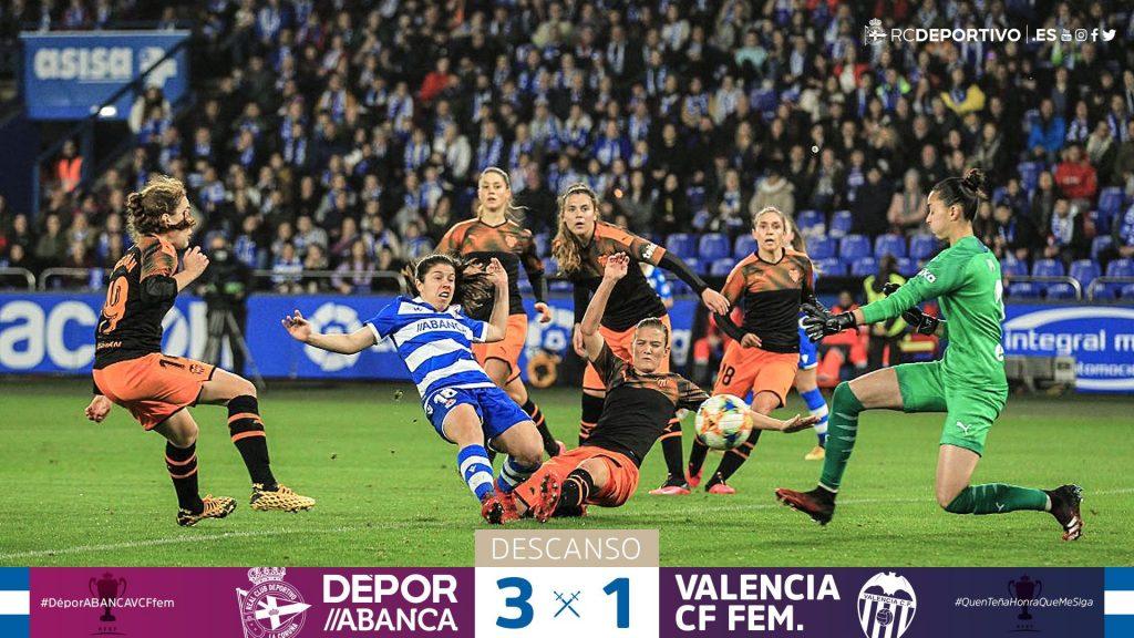 Foto artículo Depor Valencia Copa Reina