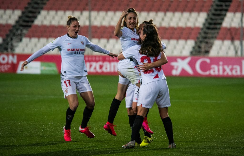 Contundente derrota del Levante ante el Sevilla en la Copa de la Reina