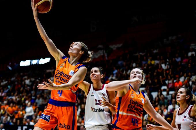 El Valencia gana al Lointek y se clasifica para cuartos de la Copa Europea