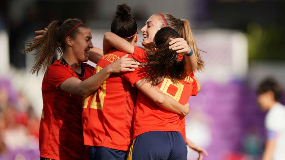 """Primera victoria de España en la """"She Believes Cup"""""""