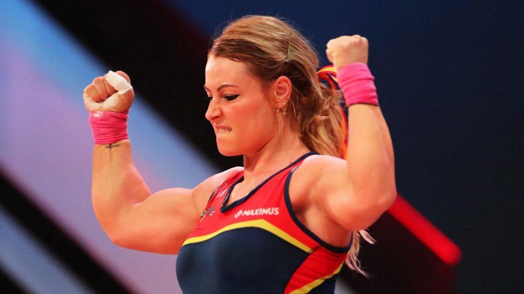 Lydia Valentín consigue un triplete de oros en Malta