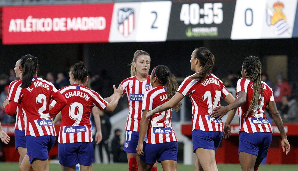 Ludmila confirma la mejora del Atlético