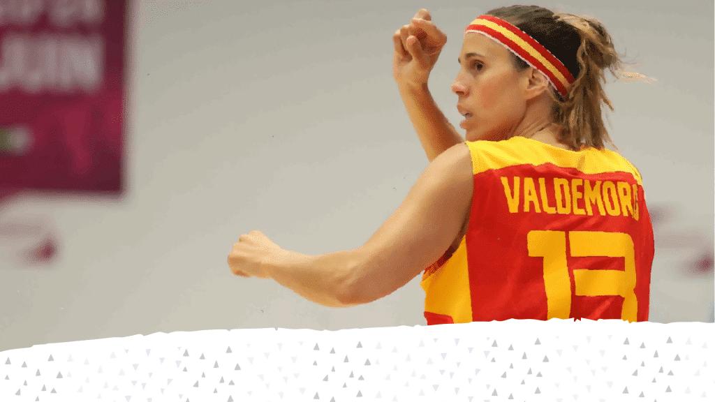 Amaya Valdemoro, símbolo y referente del baloncesto español