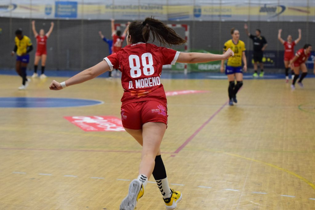 Daniela Moreno: una joven jugadora de balonmano con grandes sueños