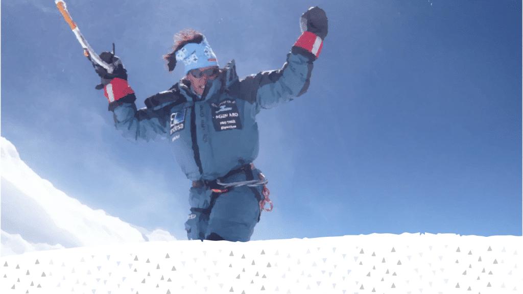 Edurne Pasaban, una mujer que destella desde más de 8.000 metros