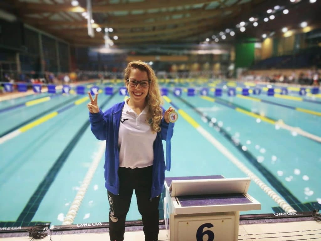 Judit Rolo natación adaptada