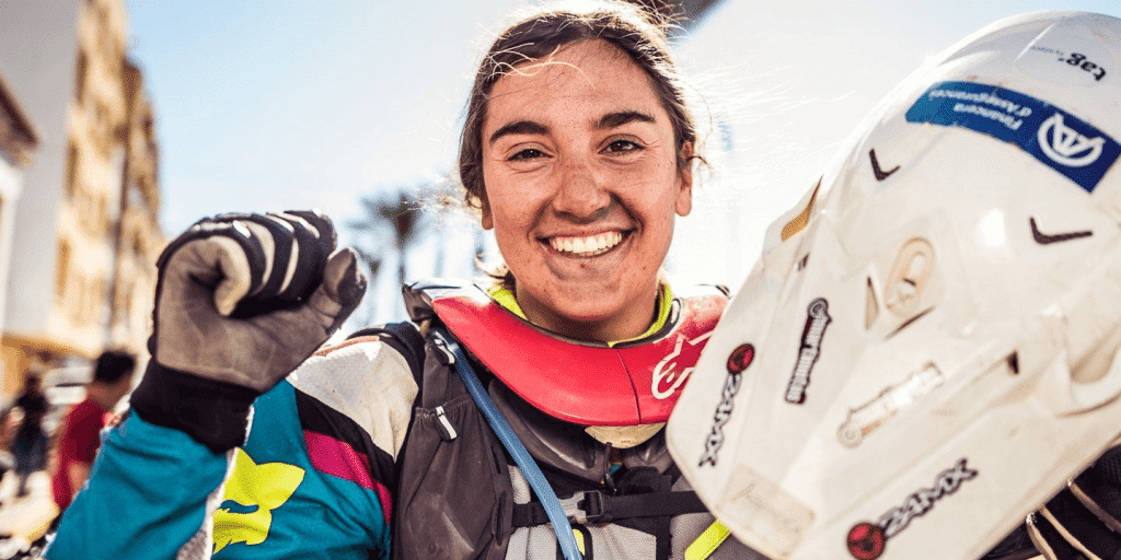 Margot Llobera, futura promesa para Dakar 2021
