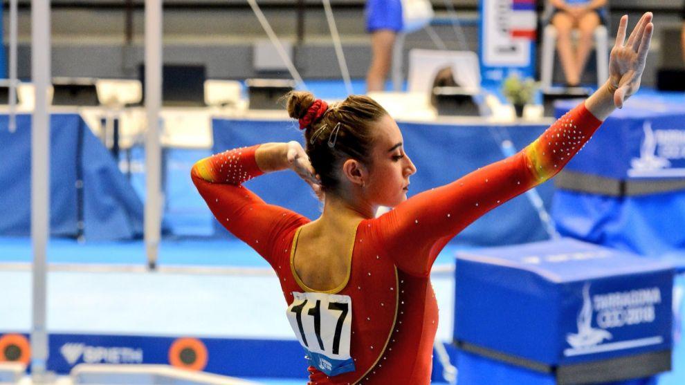 """Cintia Rodríguez: """"Todo lo que das por la gimnasia, la gimnasia te lo recompensa de una forma increíble."""""""