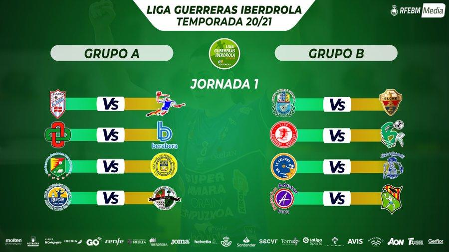 La RFEBM anuncia el calendario de la temporada 20/21 de la Liga Guerreras