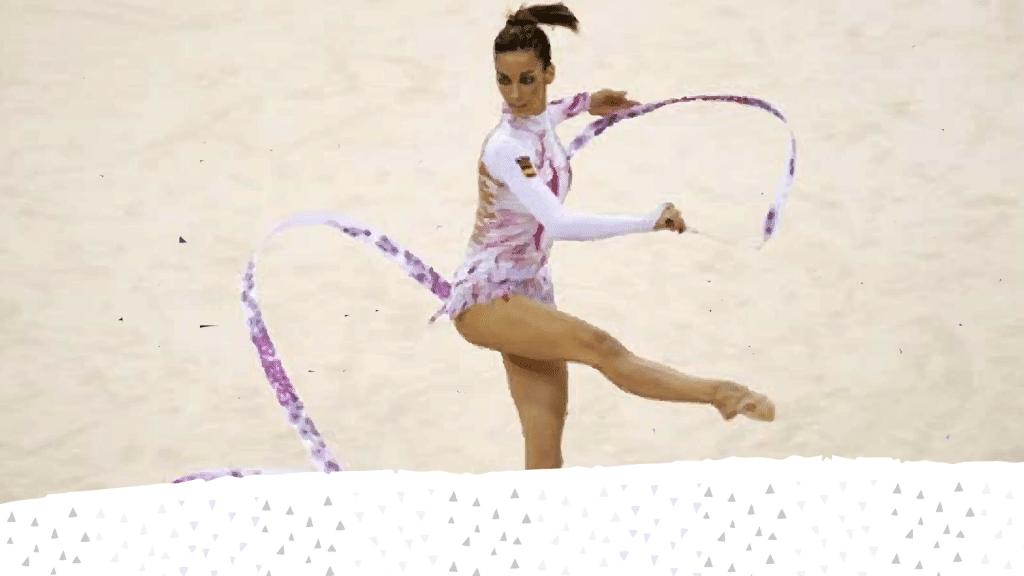 Almudena Cid: Una súper heroína vestida de lycra blanca