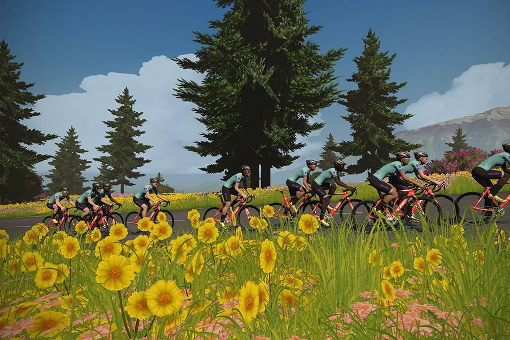 Comienzan la tercera y cuarta etapa del Tour de Francia Virtual