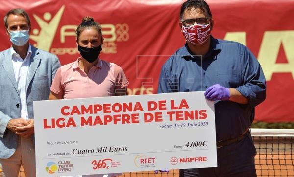 Sorribes triunfa en la primera edición femenina de la Liga Mapfre