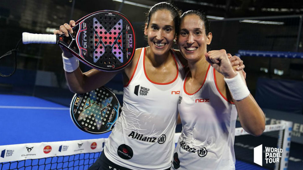 Las hermanas Sánchez Alayeto campeonas del Adeslas Open