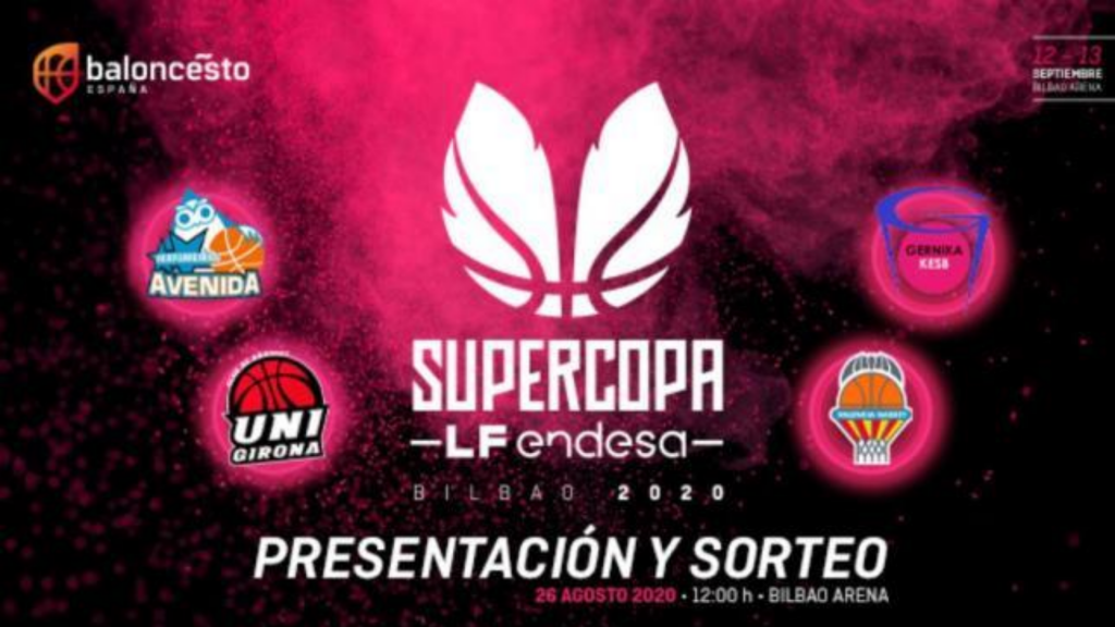El sorteo de la SuperCopa femenina será el 26 de agosto
