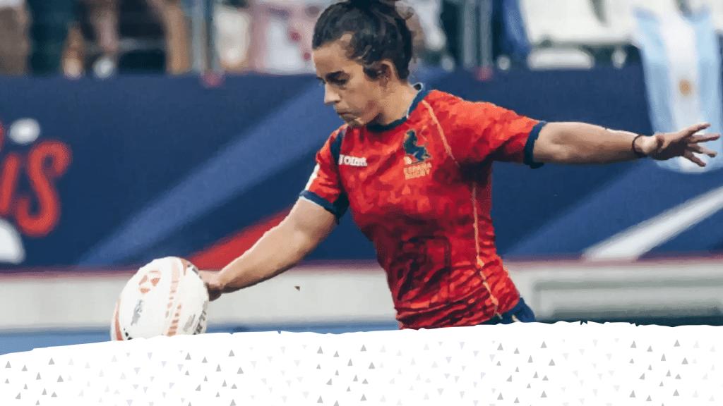 Patricia García, embajadora del rugby español