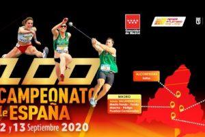 Éxito del atletismo en el 100º Campeonato de España