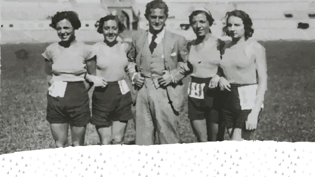 Margot Moles y Aurora Villa, atletas pioneras de los años 30