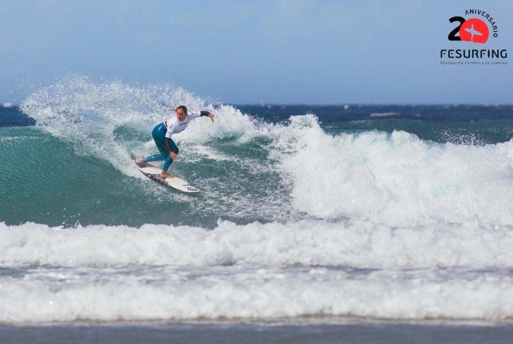 Nadia Erostarbe campeona de España de Surf