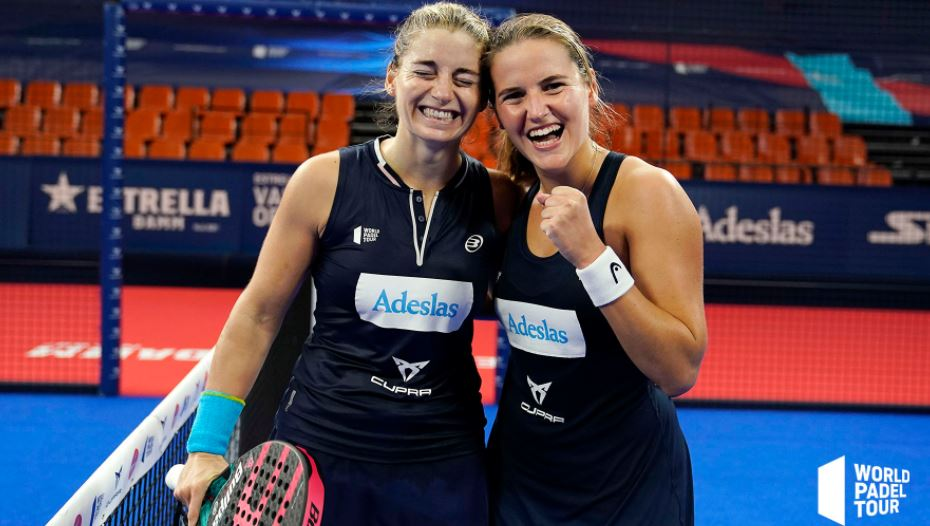 Alejandra Salazar y Ariana Sánchez se proclaman campeonas en el Valencia Open