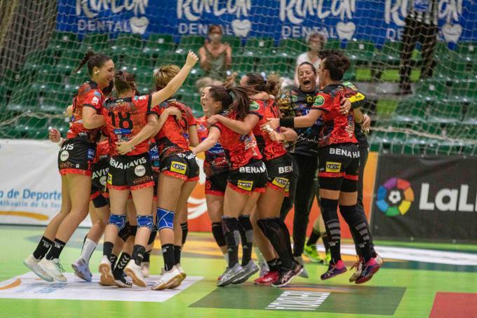 El Rincón Fertilidad Málaga, campeón de la Copa de la Reina de balonmano