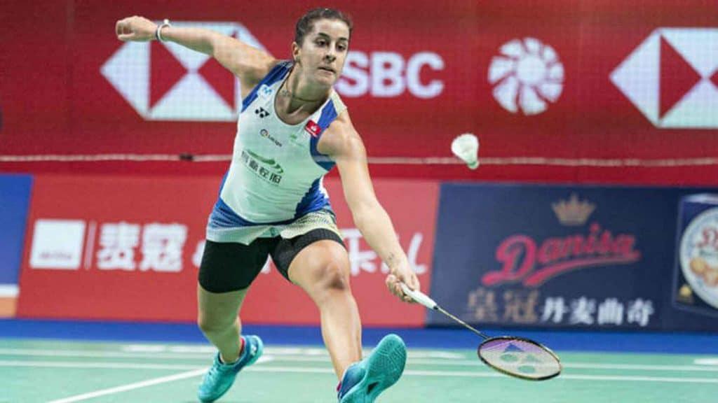 Carolina Marín se queda sin el Open de Dinamarca