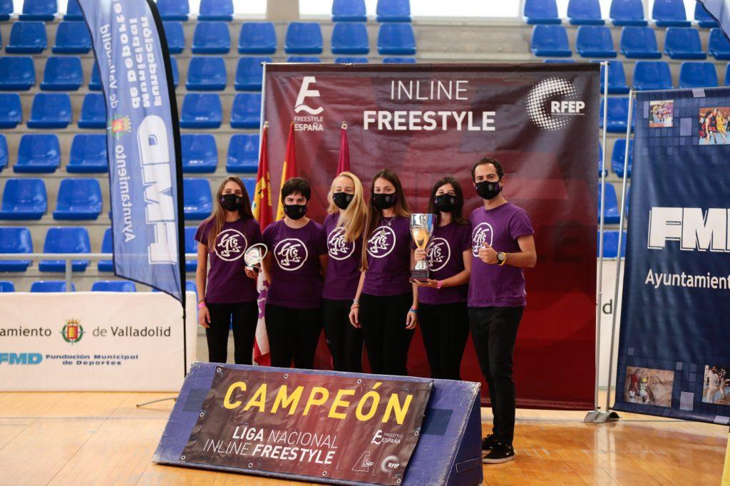 El Club GFS, campeón de la Liga Nacional de Inline Freestyle