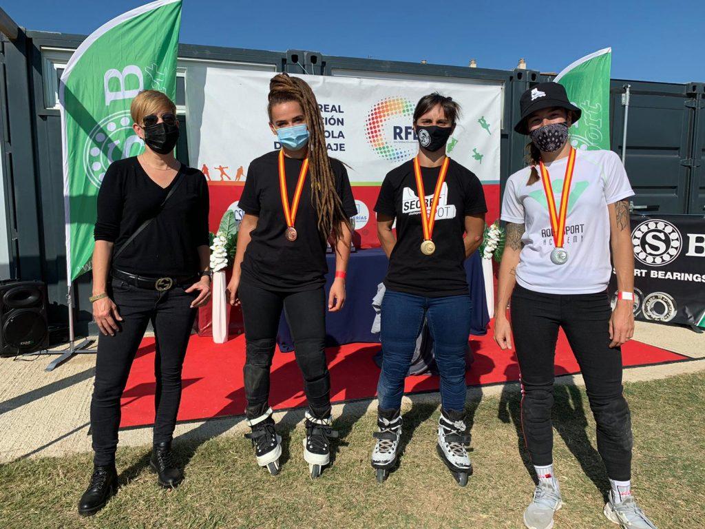 Sara Vilella se corona en el Campeonato de España de Roller Freestyle