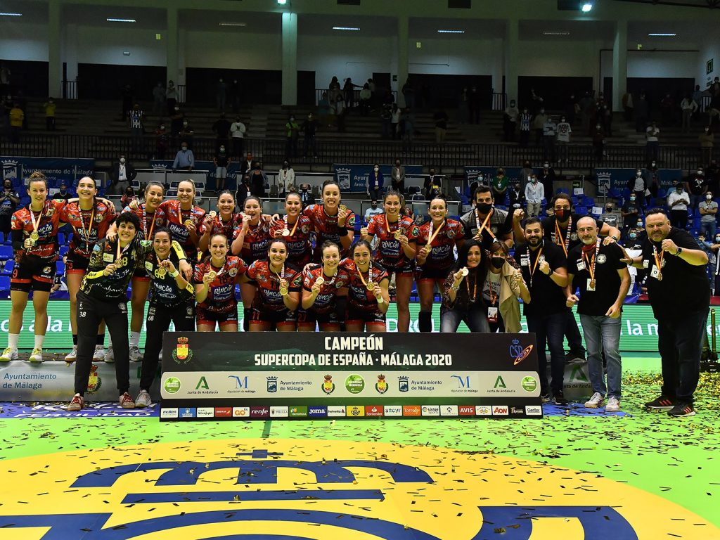 El Rincón Fertilidad Málaga se proclama campeón de la Supercopa de balonmano 2020