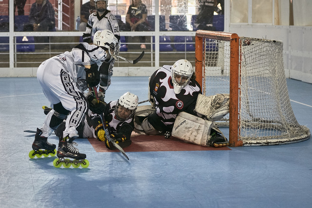 Otra jornada rara en el hockey linea femenino