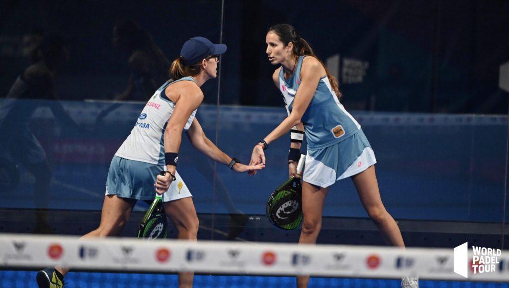 Lucía Sainz y Gemma Triay, nuevo título en el Abierto de Las Rozas