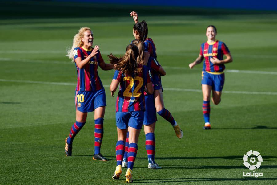 El Barça solventa un partido complicado por 5-1