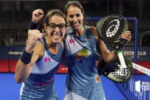 Sainz y Triay se proclaman campeonas del Alicante Open
