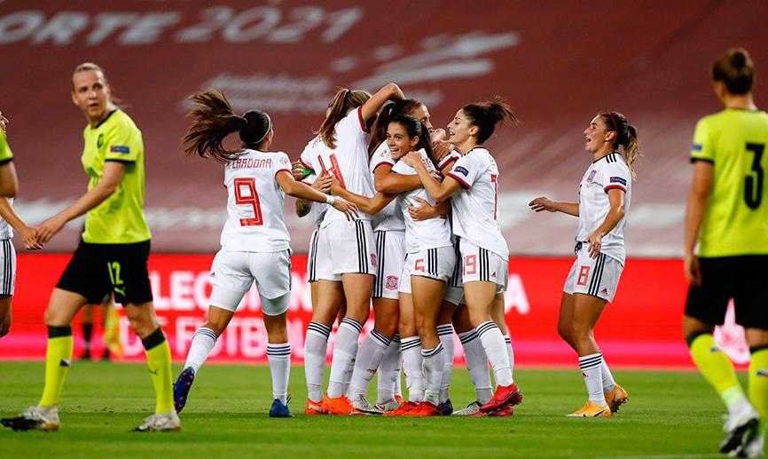La selección española jugará en Las Rozas
