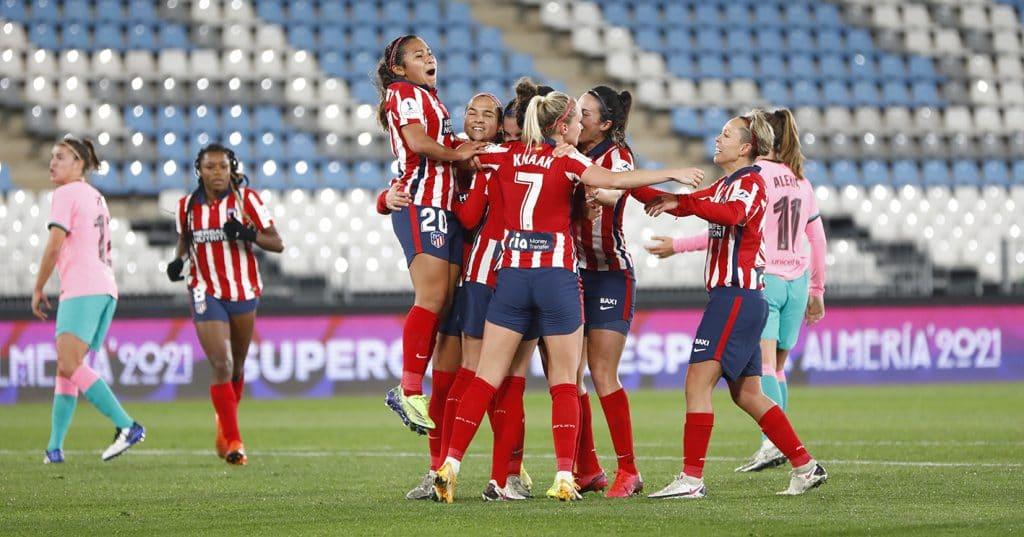 El Atlético de Madrid se mete en la final de la supercopa de España