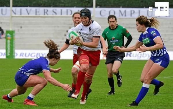 España de menos a más en el Madrid Rugby 7s International Tournament