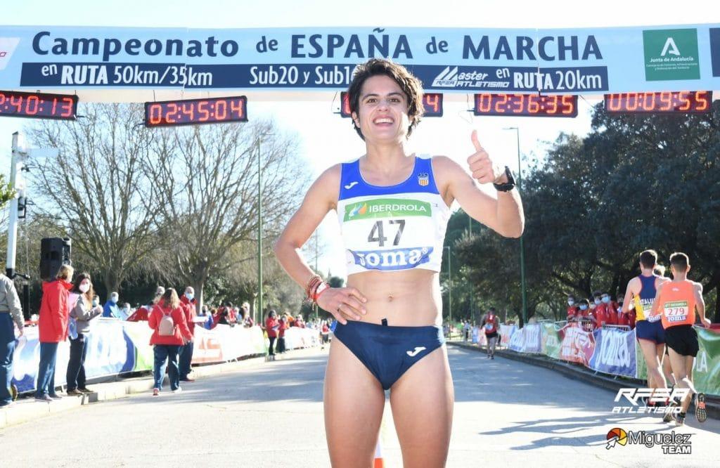 María Pérez hace historia