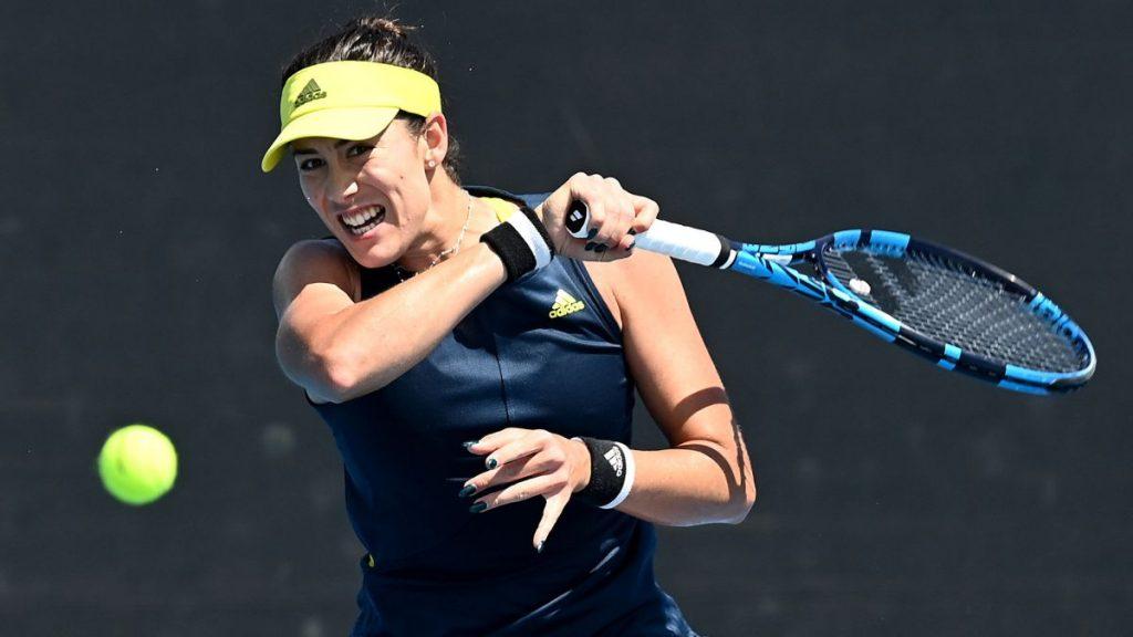 Muguruza se mete en tercera ronda del Open de Australia