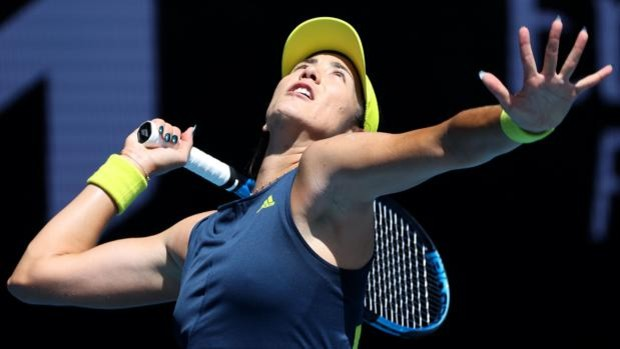 Una impetuosa Muguruza suma nueva victoria en el Open de Australia
